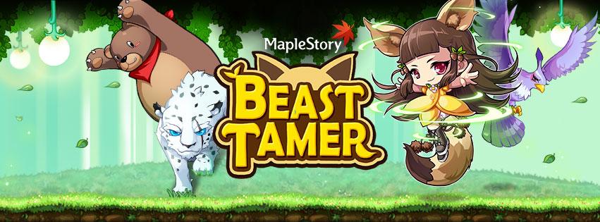 MapleStory's New Class: Beast Tamer