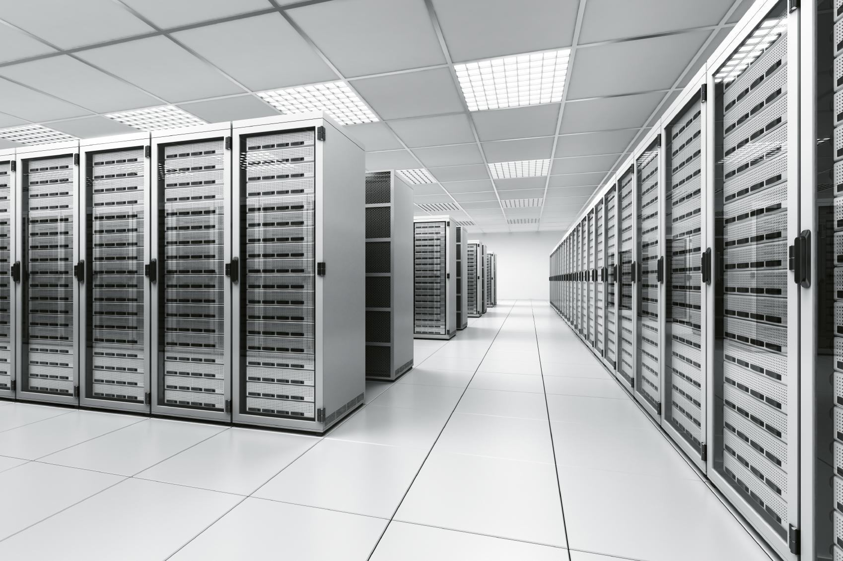 secure server room